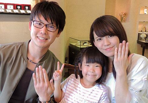H様 (Pt 光沢の変化が美しい結婚指輪)