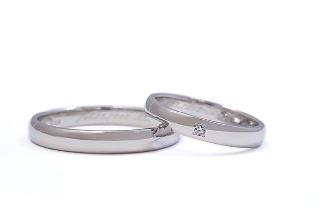 S様 (Pt 新デザインに生まれ変わった結婚指輪)